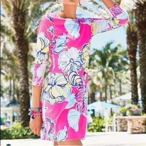 Lilly Pulitzer Marlowe Boat-Neck Swept by The Tide